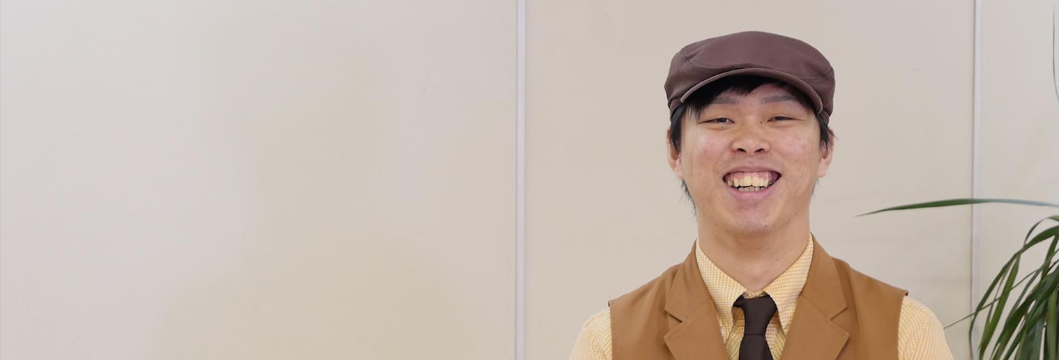 びっくりドンキー周陽店 店長 鍋田 賢