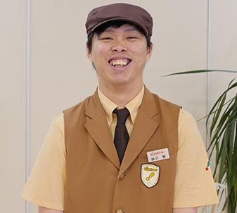 びっくりドンキー周陽店 店長 鍋田 賢の写真