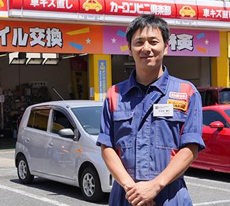 徳山秋月SS マネージャー 日名内 隆行の写真